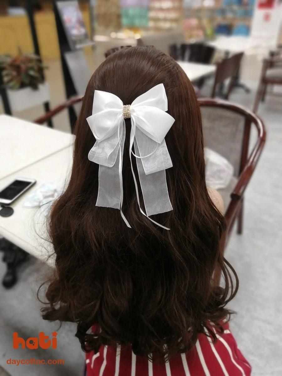 kẹp tóc cô dâu